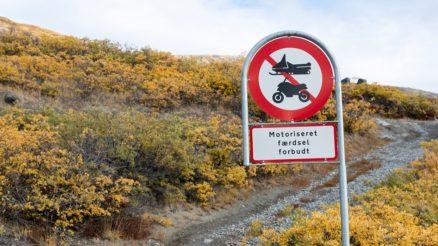 grønland skilt