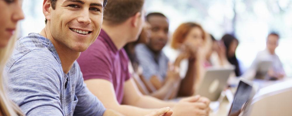 glade studerende